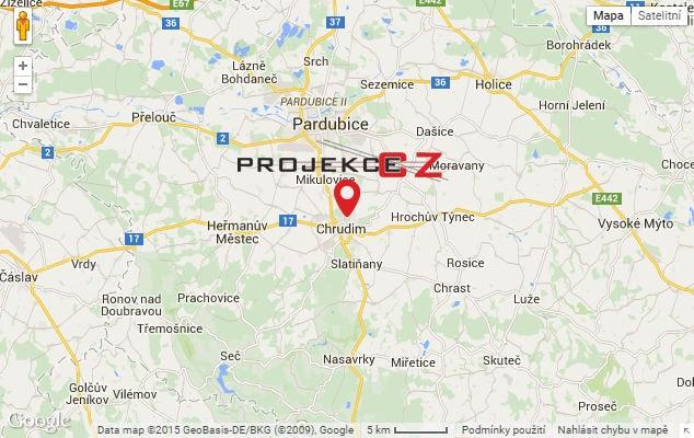 Mapa Projekce CZ