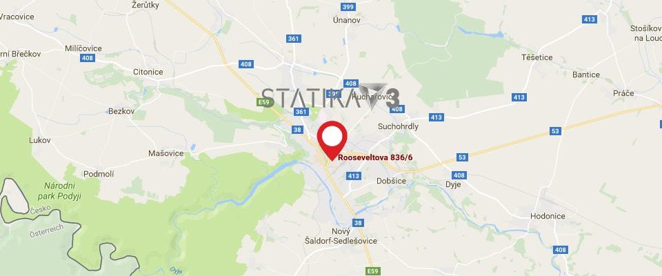 Mapa Statika 3